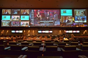 New HD Screen for The Mirage Sports Book