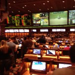 Wynn Sports Book During NFL Playoffs