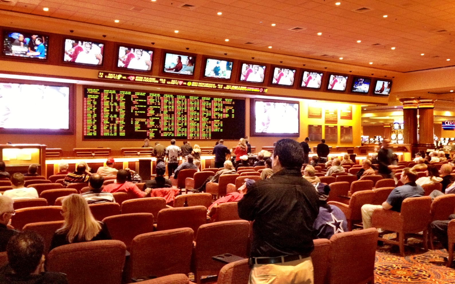 South Point Sportsbook in Las Vegas