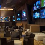 Aria Sports Book Lounge Area