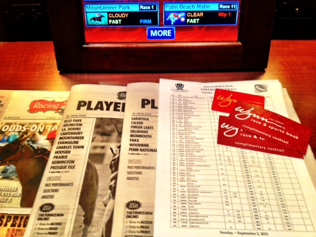 Wynn Sports Book at the Top of the List of Las Vegas Sports Books that Still Carry and Sometimes Comp Racing Forms