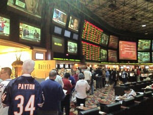 Super Bowl in Las Vegas - Bet Early to Avoid the  Long Lines