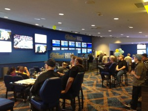 The new William Hill Sports Book at The Plaza
