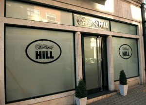 William Hill Store Front Entrance in London