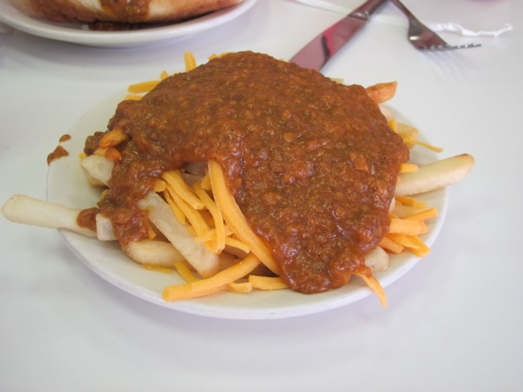 American Coney Chili Cheese Fries at The D