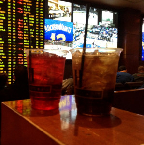 Comp Drinks at The Golden Nugget