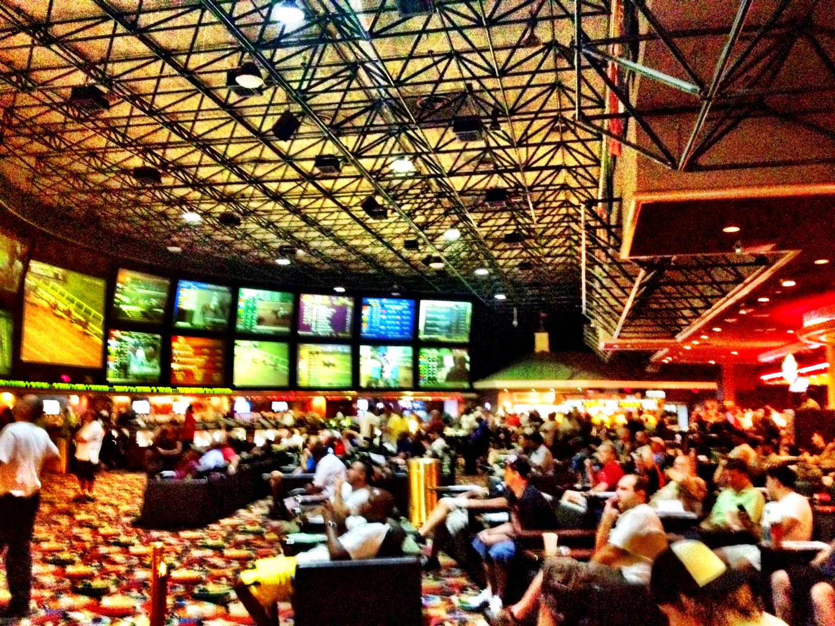 betting line super bowl sportsbook las vegas hilton