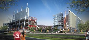 New 49ers Stadium in Santa Clara