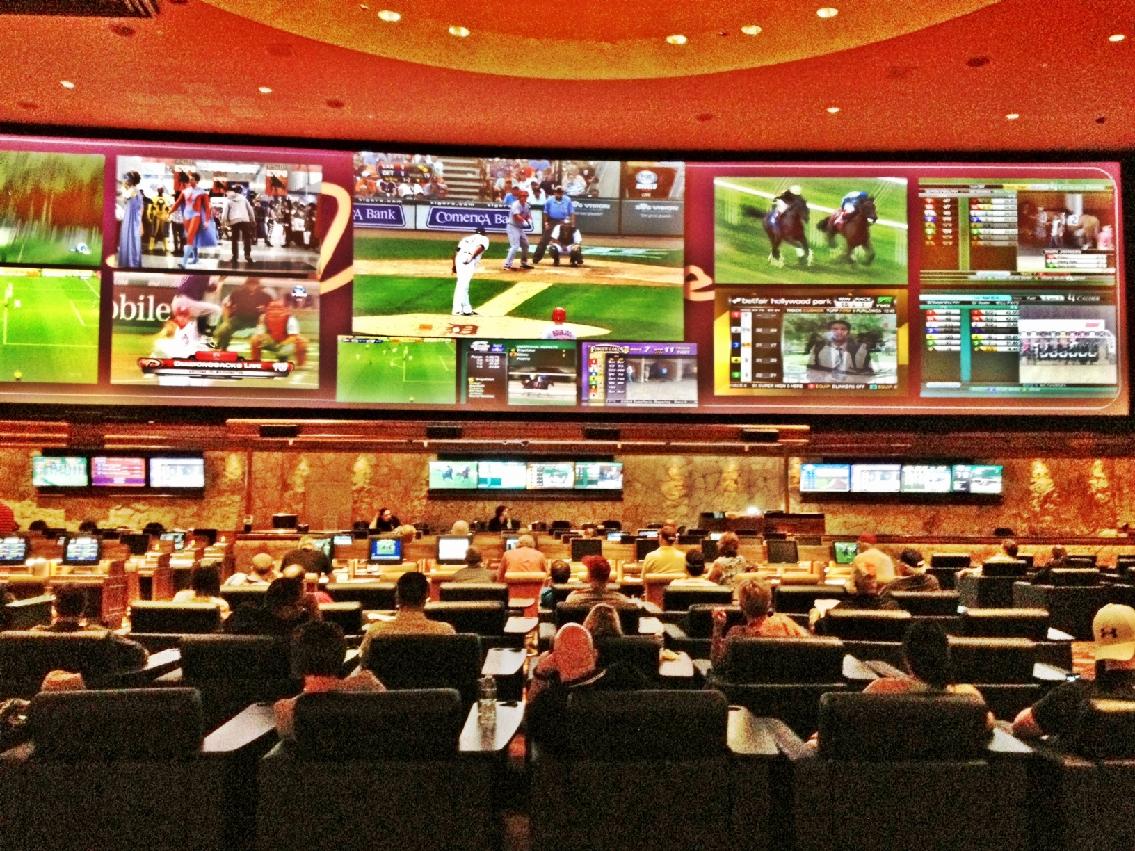 Best Las Vegas Sports Books 5 Great Places To Watch Nfl
