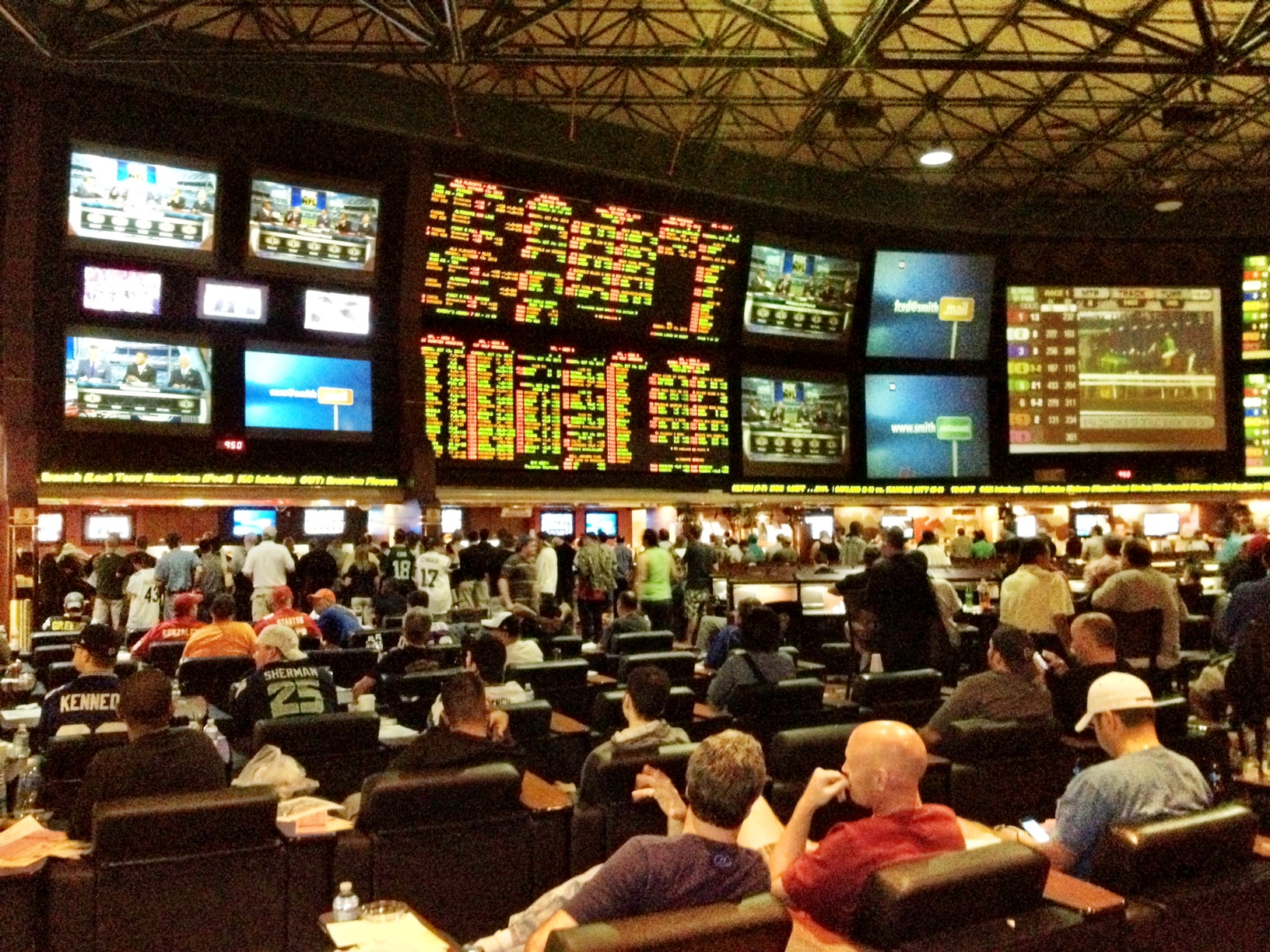 red rock sportsbook hours seahawks lions odds