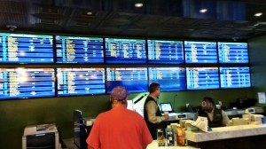 Friendly William Hill Ticket Writers at the Downtown Grand Sports Book