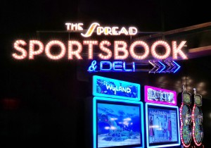 """The Spread"" Sports Book at Downtown Grand"