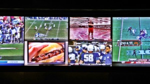 High Def Screens at the Downtown Grand Sports Book