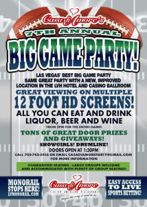 Casa Di Amore Big Game Party at LVH