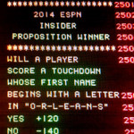 The Orleans Sports Book (ESPN Insider) Super Bowl Prop