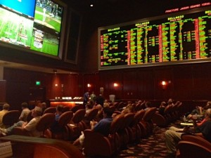 Bellagio Sports Book #9 -  The Iconic Leather Chairs of the Bellagio Sports Book