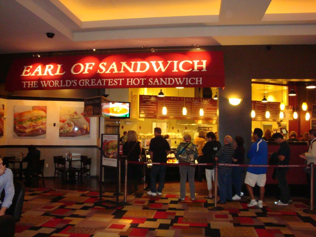 Earl of Sandwich - A few Steps from the PH Sports Book