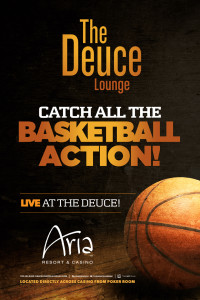 ARIA – Deuce Lounge, call for reservations. Cover (approx $50