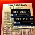 TI Sports Book Drink Tickets