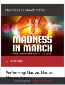 Treasure Island March Madness Party