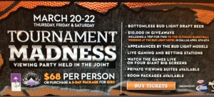 March Madness Party Returns to The Joint at The Hard Rock