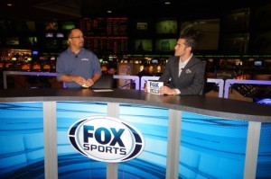 Fox Sports 1 Set at the LVH Super Book