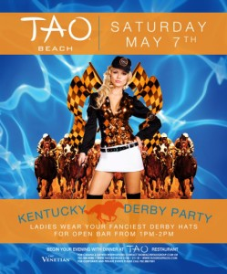 Past Kentucky Derby Party at Tao Beach at Encore