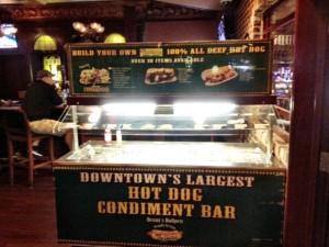The Binion's Hot Dog Cart