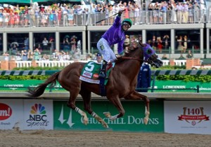California Chrome Rolled as the Favorite in the Kentucky Derby
