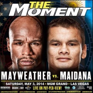 Floyd Mayweather is a Big Favorite for this Weekend's Championship Boxing Event at the MGM