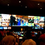 The newer screens at the TI sports book are more like it!