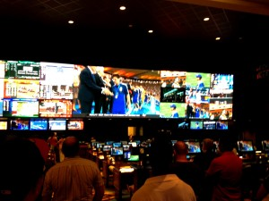 TI (Treasure Island) Sports Book - New and Improved