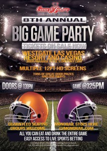 Casa Di Amore Big Game Party at The Westgate
