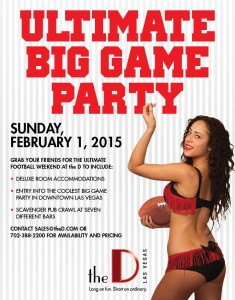 The D  - Downtown Vegas Big Game Party