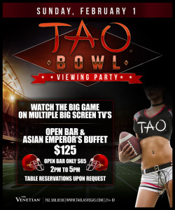 Tao - Venetian Big Game Party