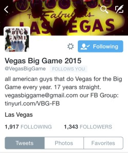 Twitter is a Great Resource for Super Bowl in Vegas Info