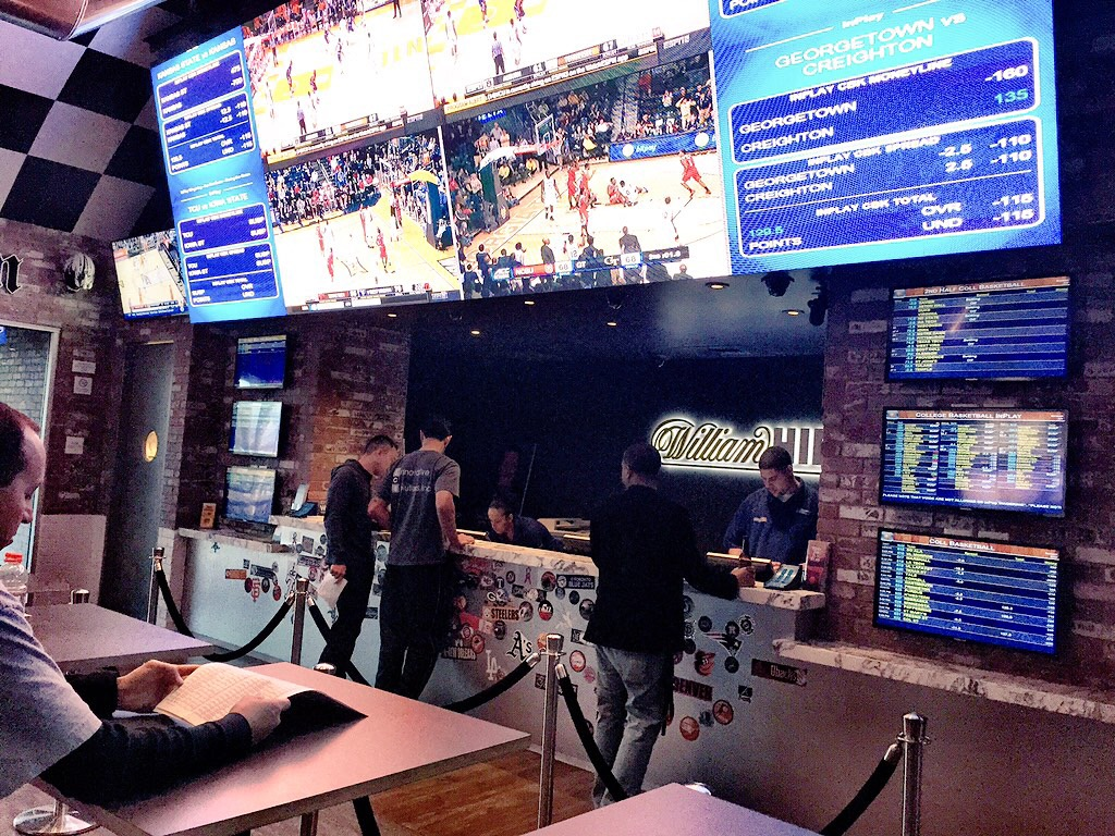 William Hill Sports Betting Counter at SLS