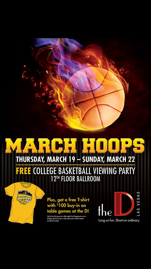 March Madness at The D in Downtown Vegas