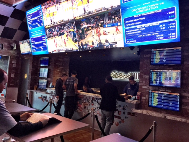 William Hill Sports Book at SLS