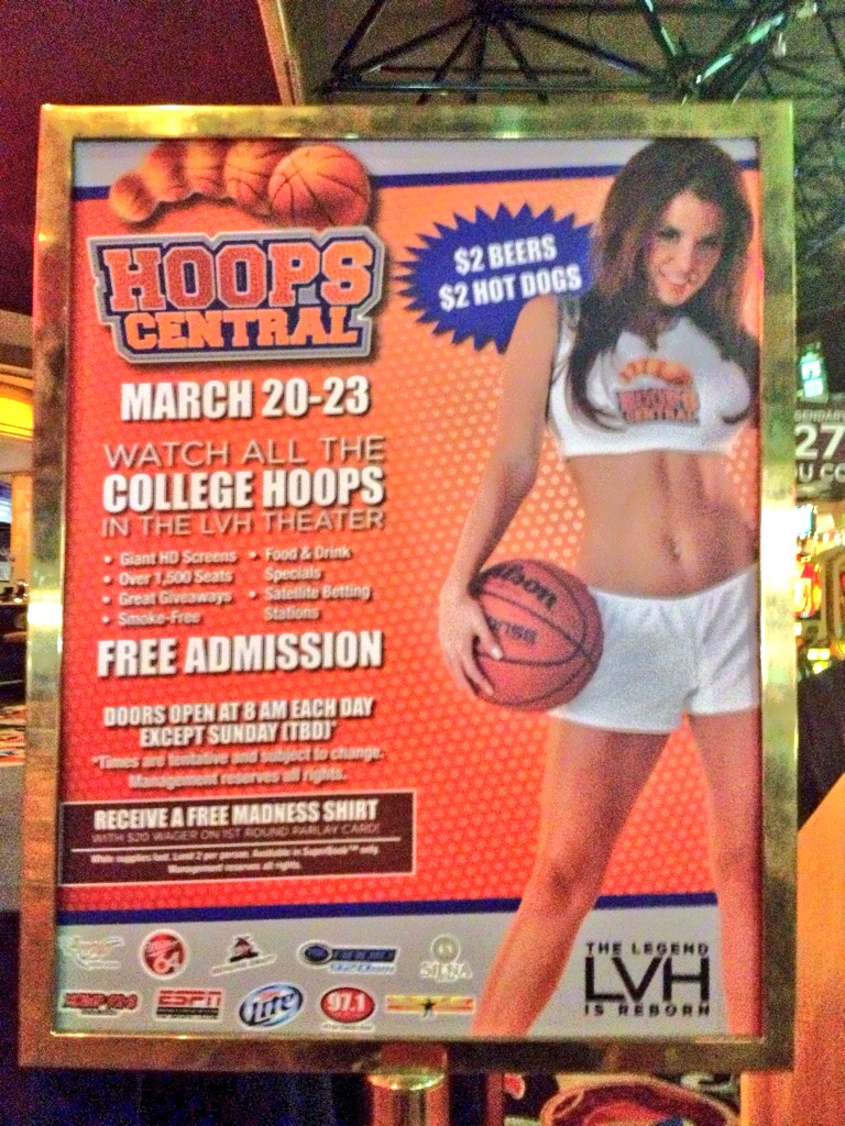 There are a Number of March Madness Parties in Las Vegas