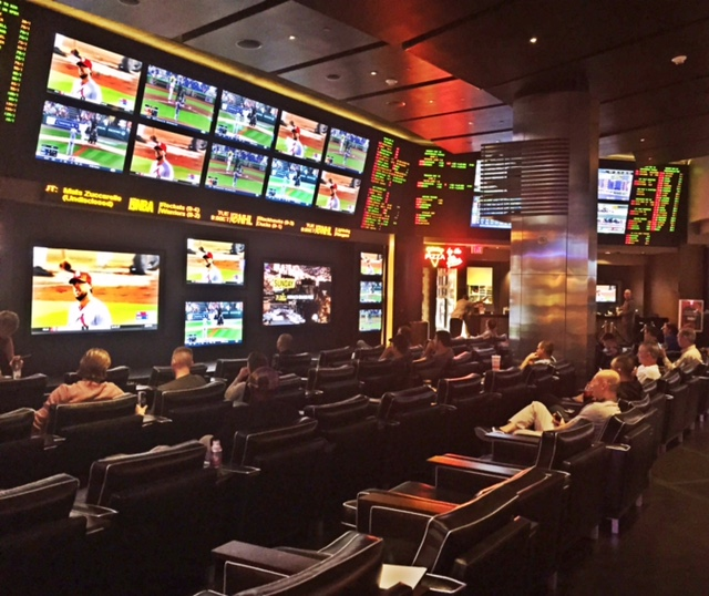 Planet Hollywood Sports Book Seating Area
