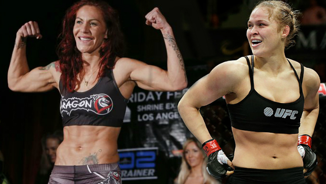 According to Vegas, Rousey would be a prohibitive favorite vs Cyborg