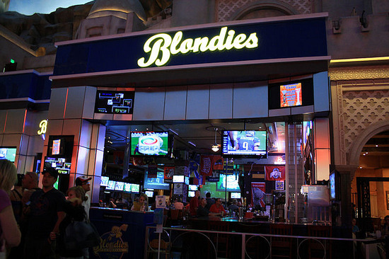 Blondies - The Shops at Planet Hollywood