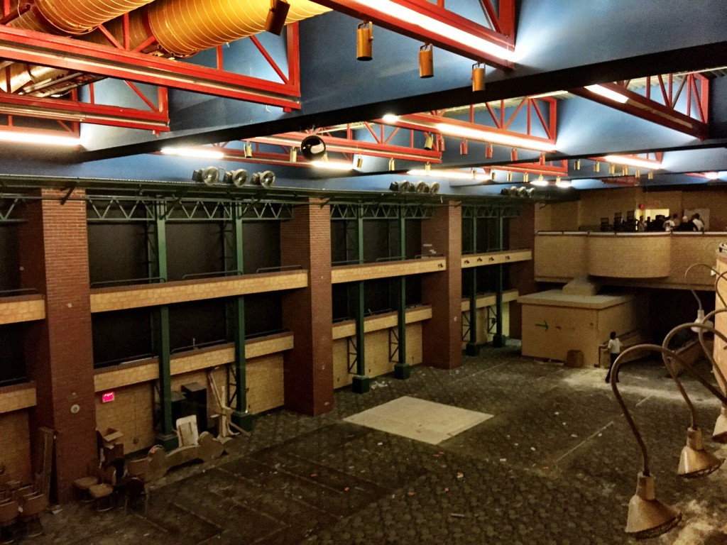 The Shuttered Las Vegas Club Sports Book Space. The Largest in Downtown While it Operated