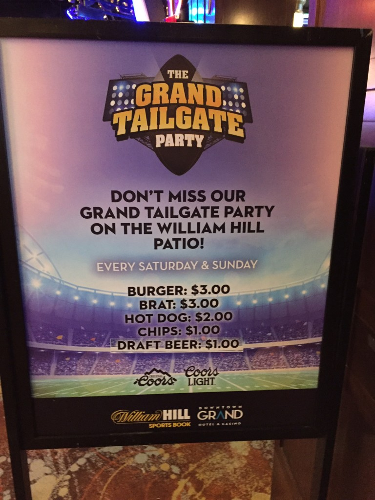 Downtown Grand Tailgate Party - Fun on the Cheap