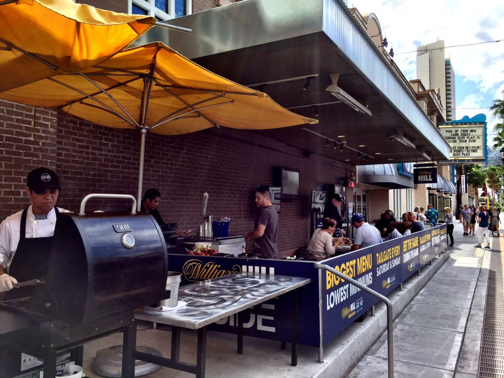 Tailgate Party on the Patio at Downtown Grand