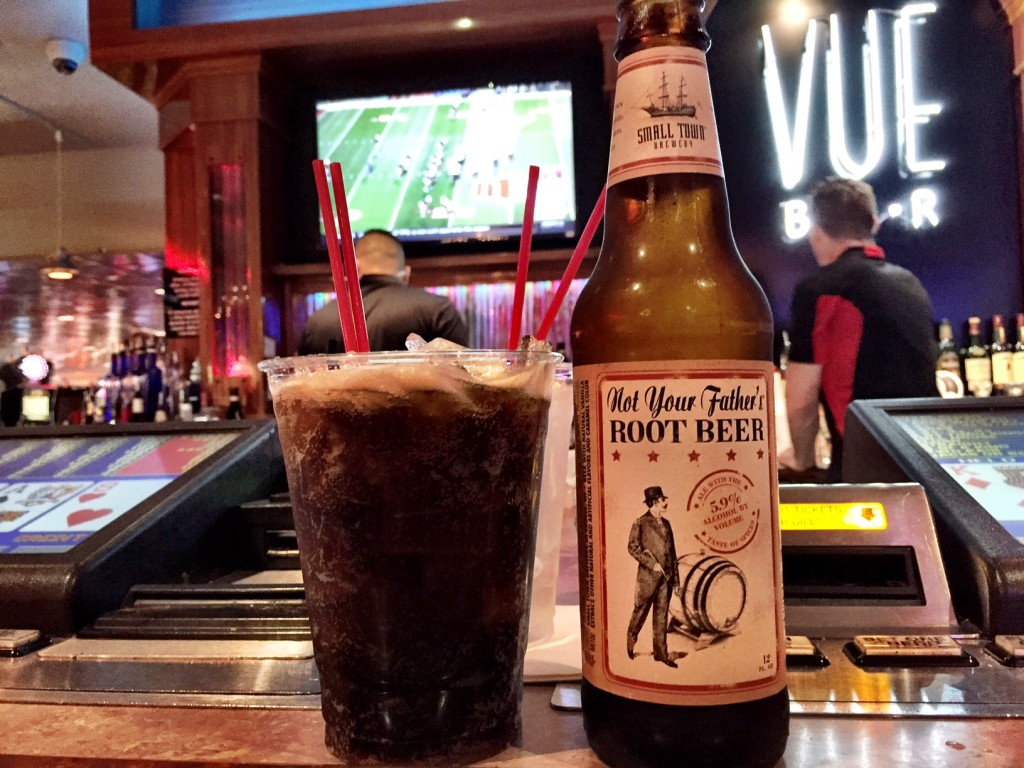 Not Your Father's Root Beer  Served at the Vue Bar at The D
