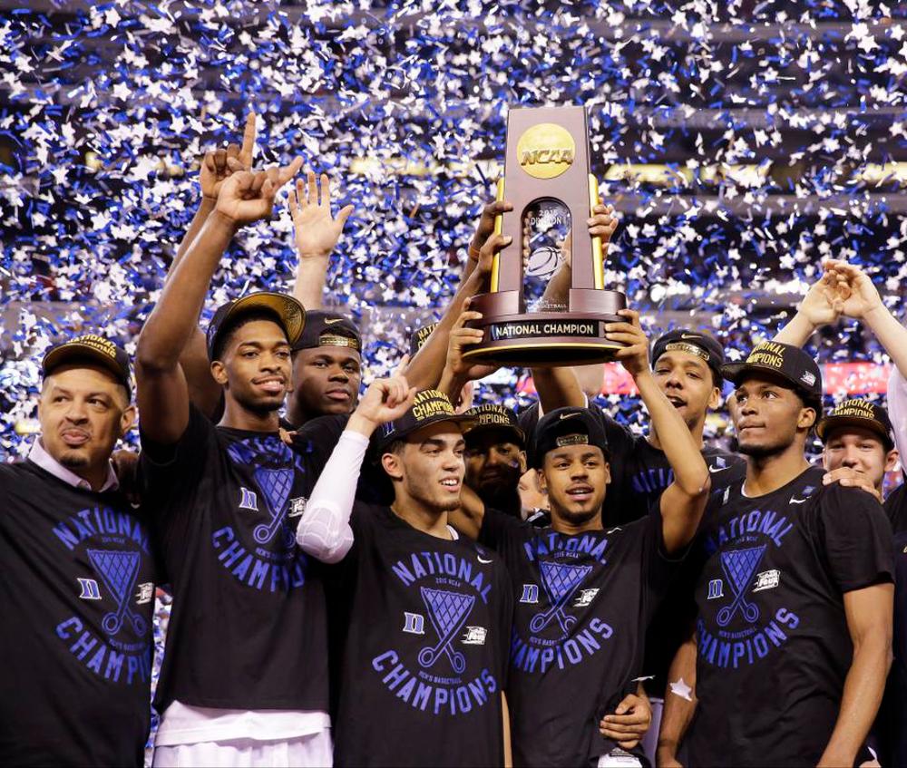 Duke Amongst the Favorites to Win the NCAA Basketball Championship