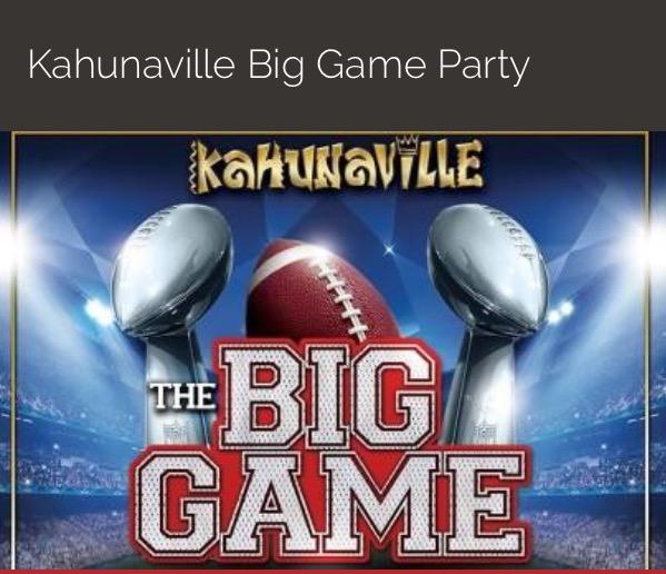 Treasure Island Big Game Party