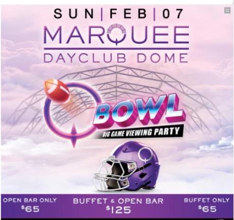 Cosmopolitan Q Bowl Big Game Party